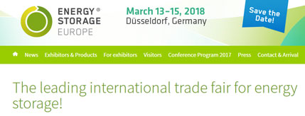Go to Energy Storage Event Düsseldorf - website