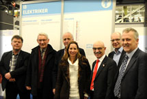 AIE board visits Euroskills competition - Electrical Installations