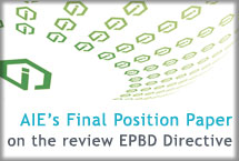 AIE's Final Position Paper on the revision of EPBD