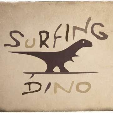Surfing Dino